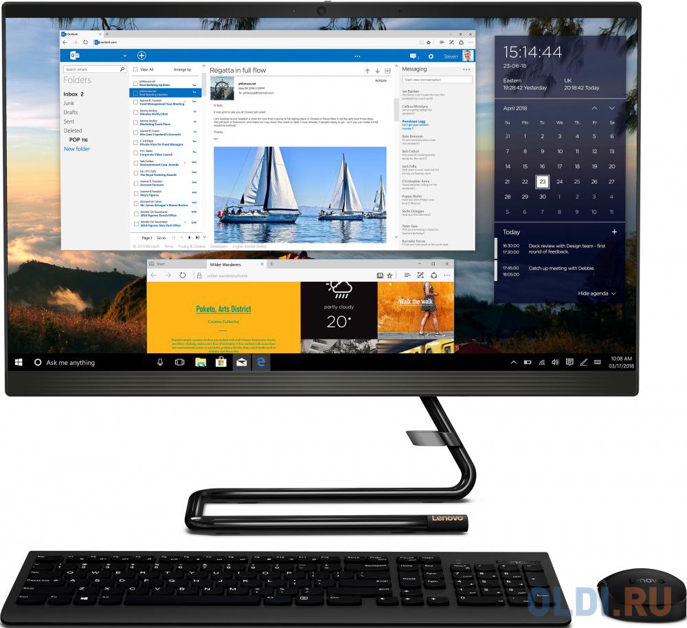Моноблок 23.8 Lenovo IdeaCentre A340-24IWL 1920 x 1080 Intel Core i3-10110U 8Gb 512 Gb Intel UHD Graphics Windows 10 Home черный F0E800MMRK F0E800MMRK моноблок 23 8 asus v241fak ba050t 1920 x 1080 intel core i3 8145u 8gb 1 tb intel uhd graphics 620 windows 10 home черный золотистый 90pt0292 m01580