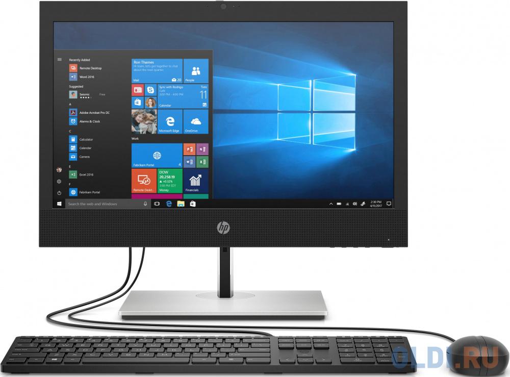 "Моноблок HP ProOne 440 G6 24"" Full HD i5 10500T (2.3)/8Gb/SSD256Gb/UHDG 630/DVDRW/Windows 10 Professional 64/WiFi/BT/90W/клавиатура/мышь/черный 1920x1080"