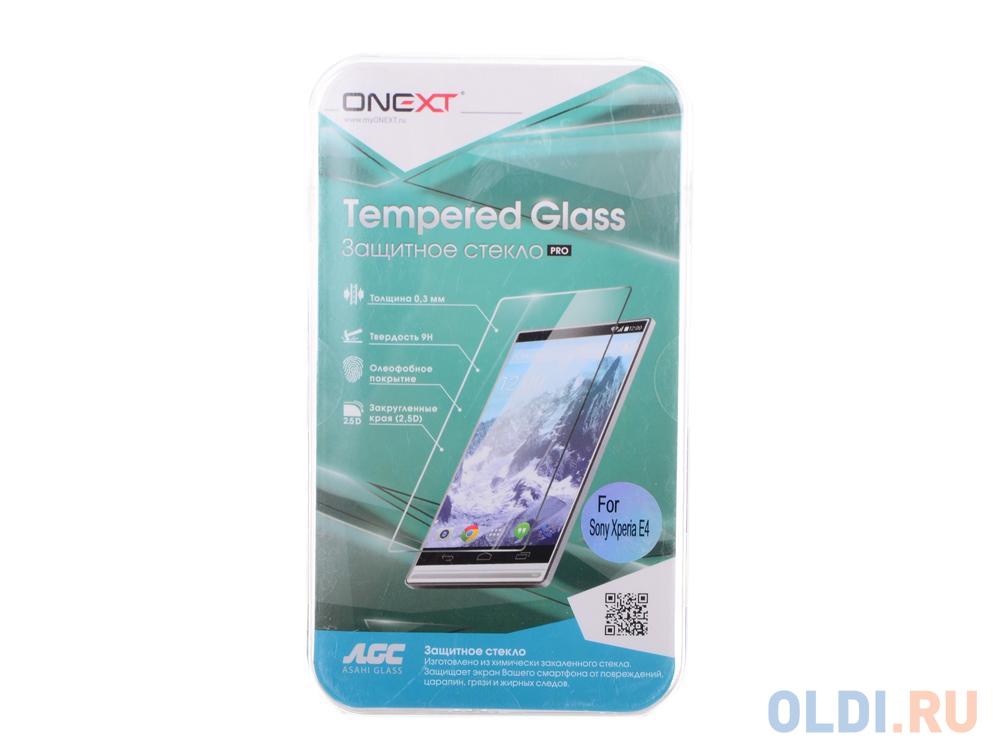 Защитное стекло для Sony Xperia E4, Onext защитное стекло df xsteel 14 для sony xperia e4