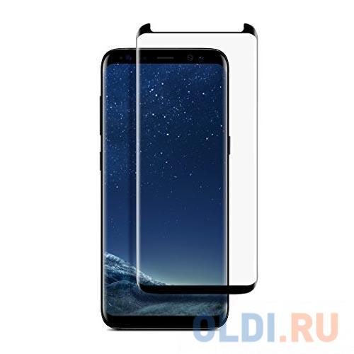 Фото - Защитное стекло BoraSCO 3D Full Glue (whole screen) для Samsung Galaxy S9+ Черная рамк защитное стекло skinbox apple watch 38mm