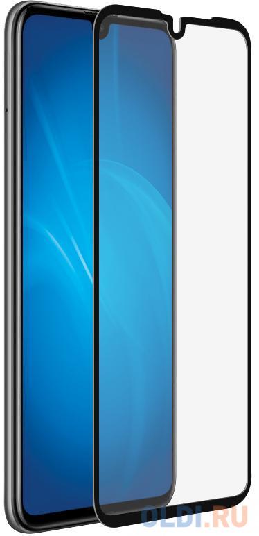 Закаленное стекло 3D с цветной рамкой (fullscreen) для Huawei P30 DF hwColor-99 (black) закаленное стекло df для huawei p30 pro 3d full screen black hwcolor 94