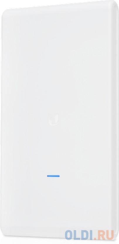 Точка доступа Ubiquiti UniFi AP AC Mesh Pro 802.11aс 1750Mbps 5 ГГц 2.4 ГГц 2xLAN белый UAP-AC-M-PRO-EU точка доступа ubiquiti unifi ap ac pro uap ac pro eu