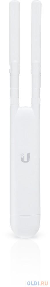 Точка доступа Ubiquiti UniFi AP AC Mesh 802.11aс 1167Mbps 5 ГГц 2.4 ГГц 1xLAN белый UAP-AC-M-EU точка доступа ubiquiti unifi ap ac pro uap ac pro eu