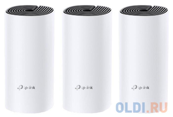 Wi-Fi система TP-LINK DECO M4(3-PACK) 802.11abgnac 1167Mbps 2.4 ГГц 5 ГГц 2xLAN белый недорого