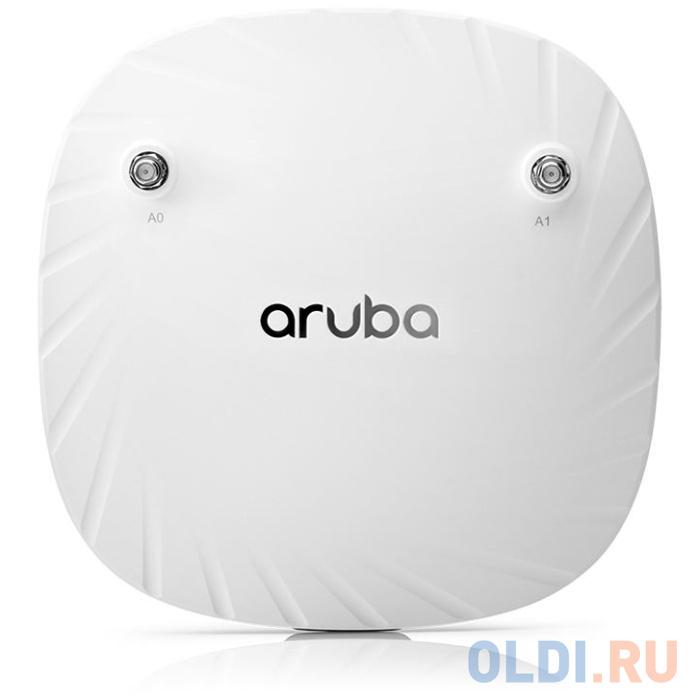 Точка доступа HP Aruba AP-504 (RW) 802.11ax 1774Mbps 5 ГГц 2.4 ГГц 1xLAN белый R2H22A