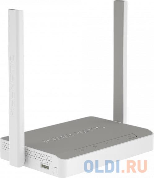 Интернет центр Keenetic Omni (KN-1410) для выделенной линии Ethernet, с точкой доступа Wi-Fi 802.11n 300 Мбит/с, коммутатором Ethernet и многофункцион