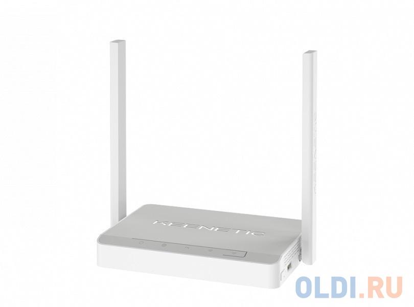 Интернет-центр Keenetic DSL (KN-2010) для подключения по VDSL/ADSL с Wi-Fi N300, усилителями приема, управляемым коммутатором и многофункц.портом USB