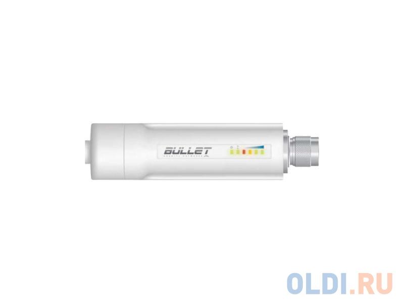 Фото - Точка доступа Ubiquiti Bullet M2 HP 802.11n 150Mbps 2.4GHz 28dBm разъем N BulletM2-HP точка доступа ubiquiti locom2 unifi nanostation loco m2 802 11n 150mbps 2 4ghz