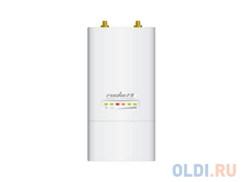 Точка доступа Ubiquiti RocKet M5 802.11n 150Mbps 5GHz 2xRP-SMA RocketM5 точка доступа ubiquiti rocket m5 eu