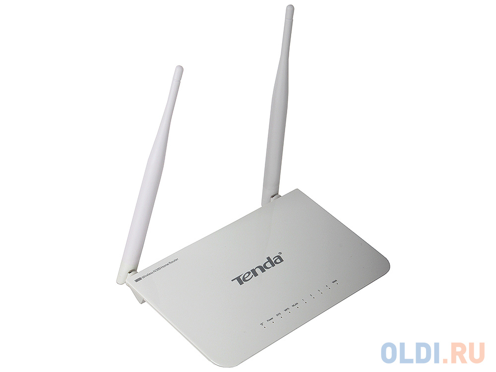 Маршрутизатор Tenda F300 N300 Wi-Fi маршрутизатор 2 фиксированные 5 дБи всенаправленные антенны