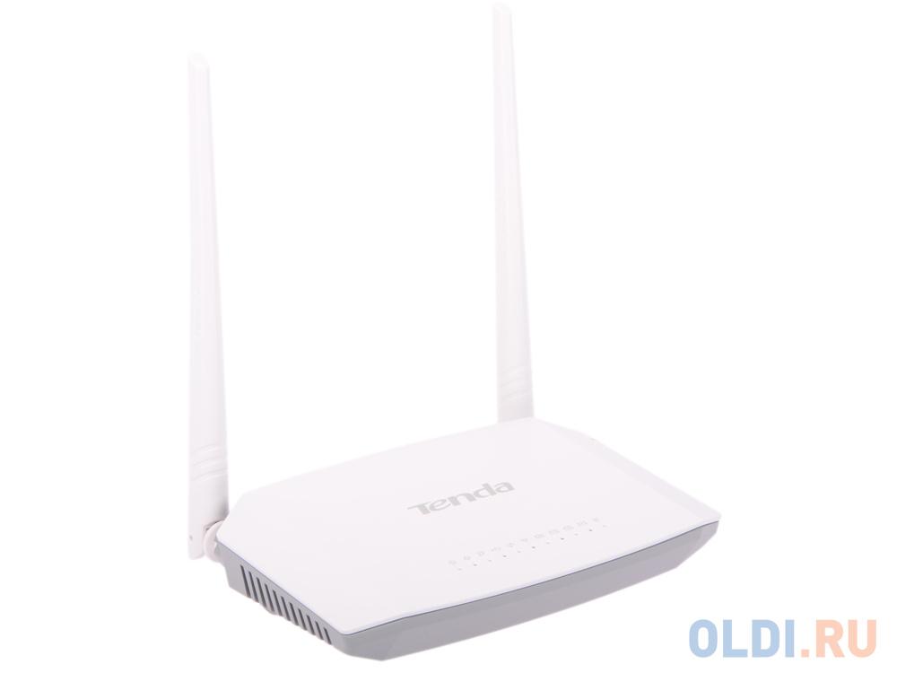 Маршрутизатор ADSL Tenda D301 802.11n 300Mbps 2.4ГГц 4xLAN