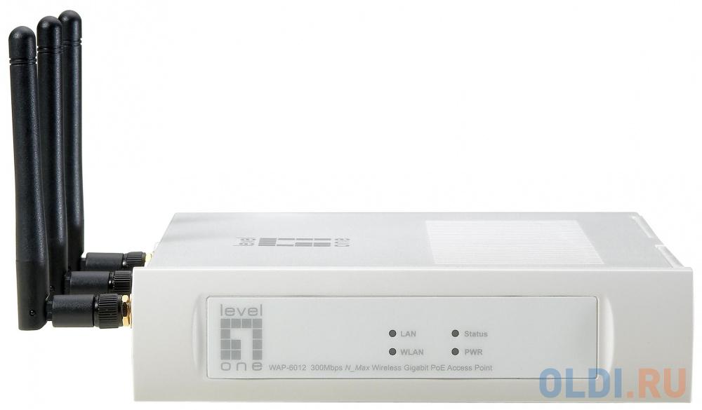 Точка доступа Level One  WAP-6012 300Mbps N_Max Беспроводная PoE точка доступа с интерфейсом GigabitEthernet