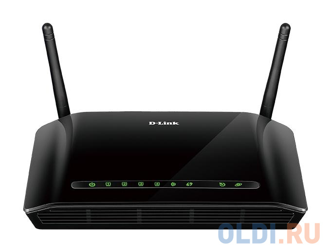 Маршрутизатор D-Link DSL-2740U/RA/V2A Беспроводной маршрутизатор ADSL2+ с поддержкой Ethernet WAN