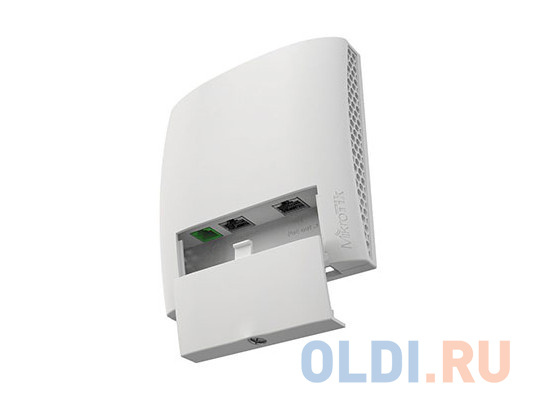Точка доступа MikroTik RBwsAP-5Hac2nD wsAP ac lite with 650MHz CPU, 64MB RAM, 3xLAN, built-in 2.4Ghz 802.11b/g/n two chain wireless with integrated an