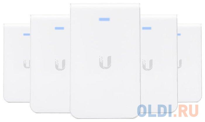 Фото - Точка доступа Ubiquiti UAP-AC-IW-5 UniFi AP, AC, In Wall, 5-Pack точка доступа ubiquiti unifi ap ac long range uap ac lr 5 eu