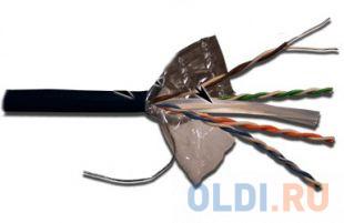 Кабель информационный Lanmaster LAN-6EFTP-WP-OUT кат.6 F/UTP общий экран 4X2X24AWG PVC внешний 305м черный кабель lanmaster ftp кат 6 305м серый lan 6eftp pt gy