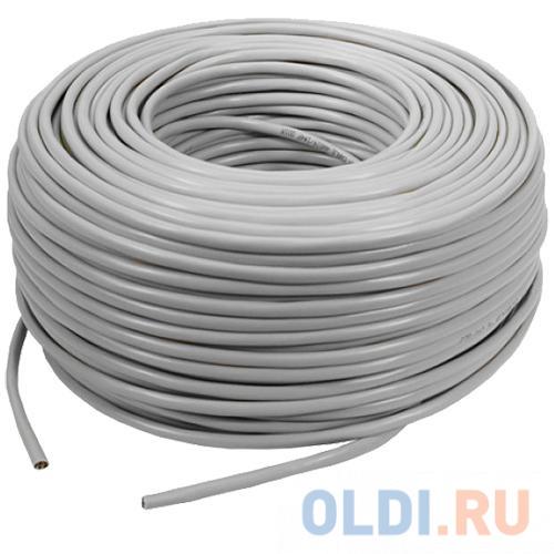 Кабель Lanmaster UTP кат.5е 305м серый TWT-5EUTP1-GY кабель lanmaster ftp кат 6 305м серый lan 6eftp pt gy