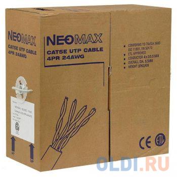 Кабель Neomax UTP категория 5e 4 пары 305м NM13001