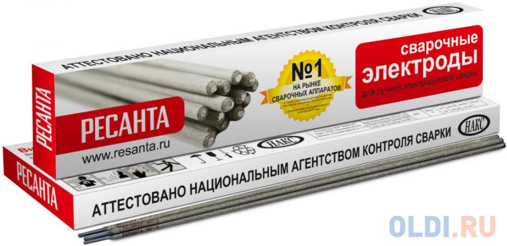 Электроды для сварки Ресанта МР-3 4 мм 1 кг.