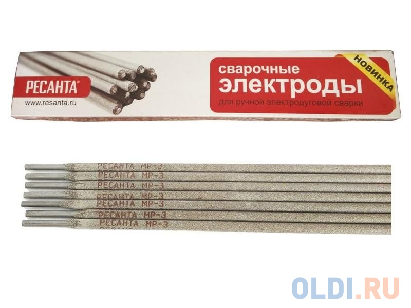 Электроды для сварки Ресанта МР-3 Ф25 2.5 мм 1 кг 71/6/22.