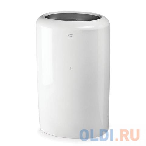 Контейнер для мусора, 50 л, TORK (B1) Elevation, белый, 62,9х38,9х28,9 см, без крышки, 563000
