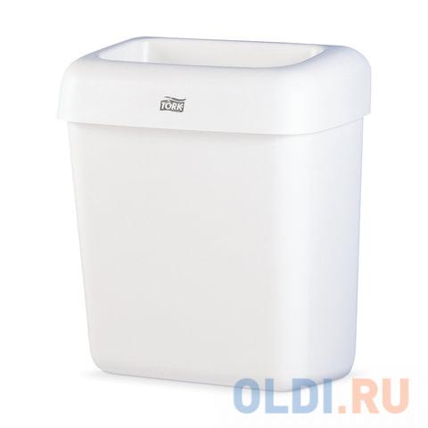 Контейнер для мусора, 20 л, TORK (Система B2), белый, 43х32,2х 20,5 см, без крышки, 226100