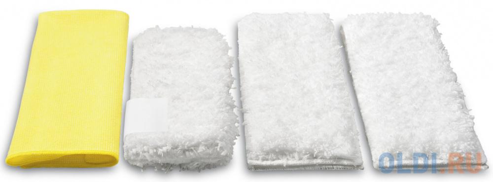 Аксессуар для пароочистителей Karcher, набор салфеток для кухни 4 шт