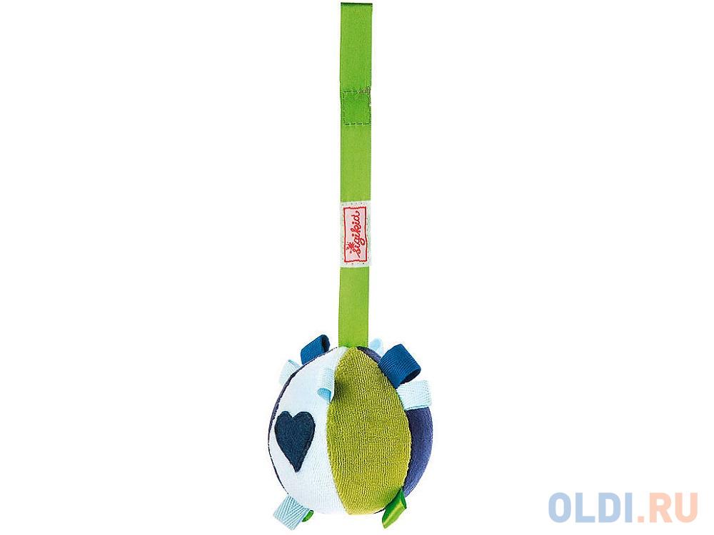 Развивающая игрушка SigiKid Мячик цвет сине-бело-зеленый,49253