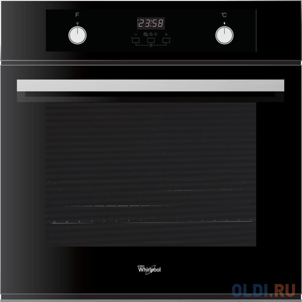 Электрический шкаф Whirlpool AKP 786 NB черно-серебристый.