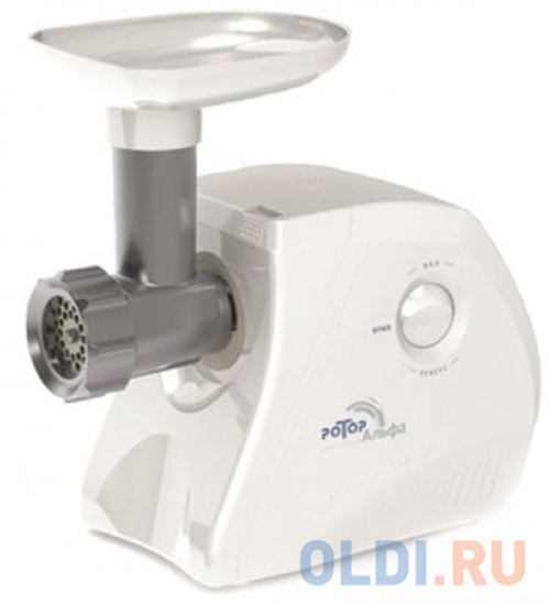 Электромясорубка Ротор Альфа ЭМШ 35/250-3 300 Вт белый
