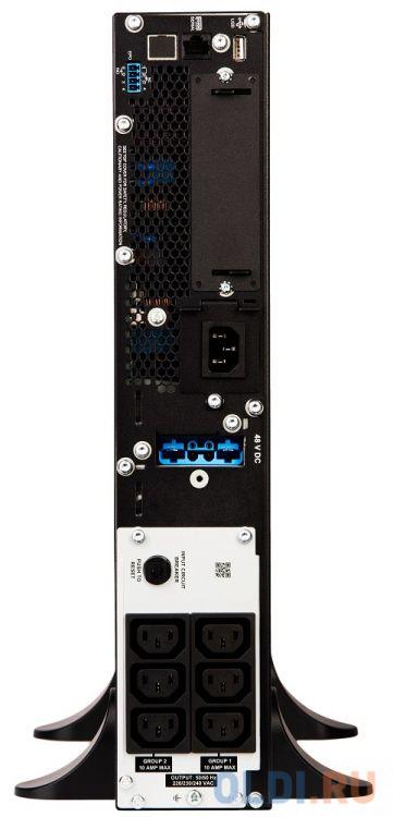 Фото - ИБП APC Smart-UPS SRT 1500VA 230V 1500VA SRT1500XLI hp ups t1500 g4 intl 220v 230v 240v 1500va 1050w input c14 output 8 iec c13 analog af451a