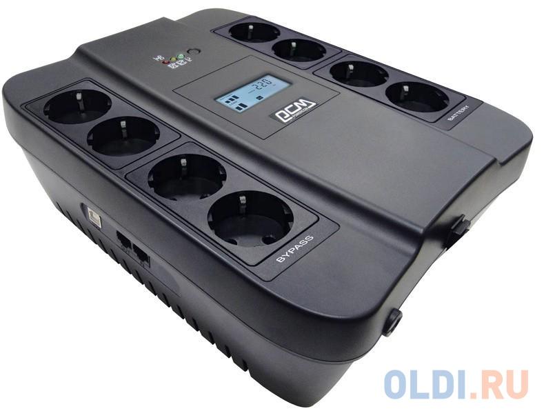 ИБП Powercom SPD-900U LCD 900VA