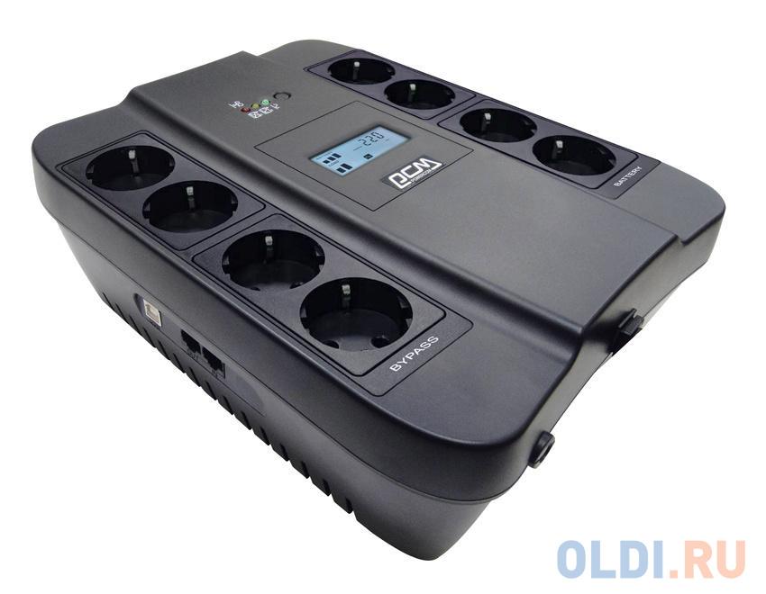 ИБП Powercom SPD-550U LCD 1100VA