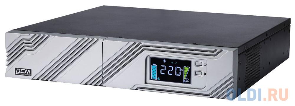 ИБП Powercom SRT-1000A LCD 1000VA