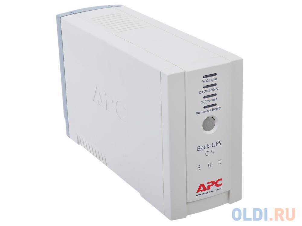 ИБП APC BK500EI Back-UPS CS 500VA/300W ибп apc bk500ei back ups cs 500va 300w
