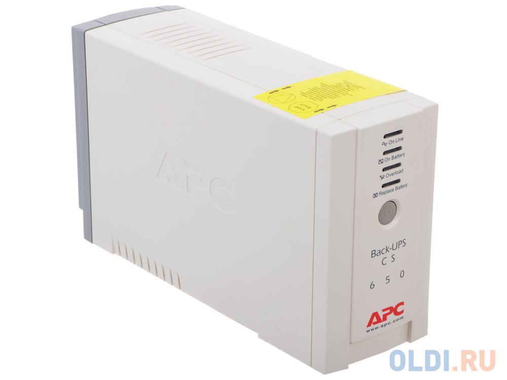 ИБП APC BK650EI Back-UPS 650VA/400W