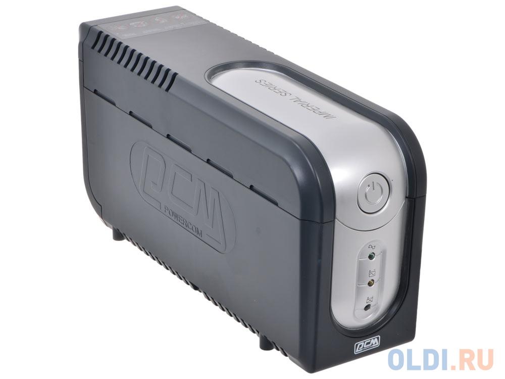 ИБП Powercom IMP-825AP Imperial 825VA/495W USB, AVR, RJ11, RJ45 (3+2 IEC)* ибп powercom imd 825ap 3 кабеля