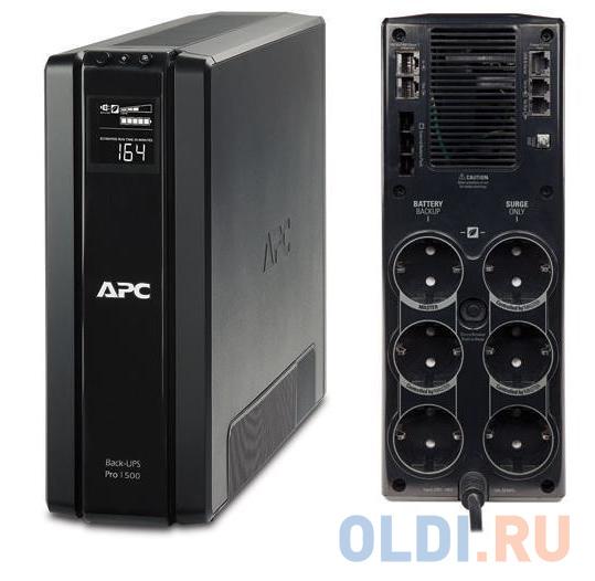 ИБП APC BR1500G-RS Back-UPS Pro 1500VA/865W