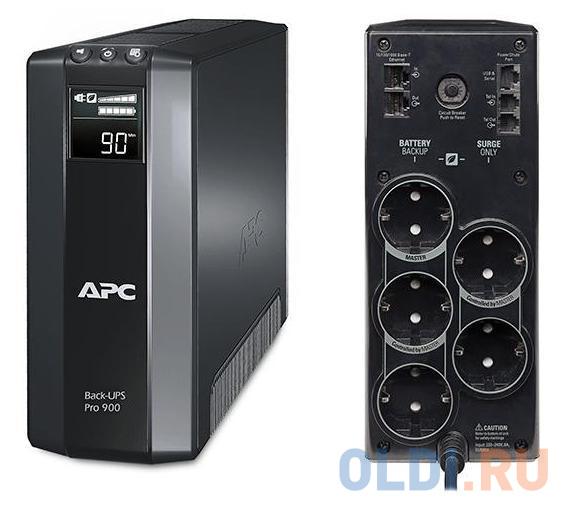 ИБП APC BR900G-RS Back-UPS Pro 900VA/540W недорого