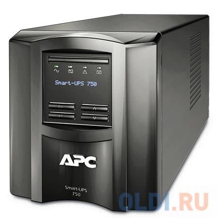 ИБП APC SMT750I Smart-UPS 750VA/500W LCD недорого