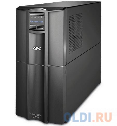 ИБП APC SMT2200I Smart-UPS 2200VA/1980W LCD ибп apc smx2200r2hvnc 2200va