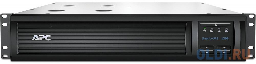 ИБП APC SMT1500RMI2U Smart-UPS 1500VA/1000W LCD 2U Rackmount ибп apc smc1500i 2u 1500va