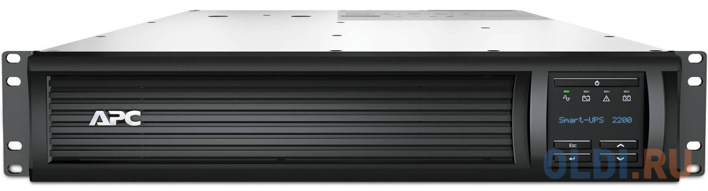 ИБП APC SMT2200RMI2U Smart-UPS 2200VA/1980W LCD 2U Rackmount ибп apc smx2200r2hvnc 2200va