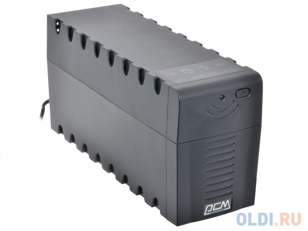Фото - ИБП Powercom RPT-1000A Raptor 1000VA/600W AVR (3 IEC) интерактивный ибп powercom raptor rpt 1000a черный
