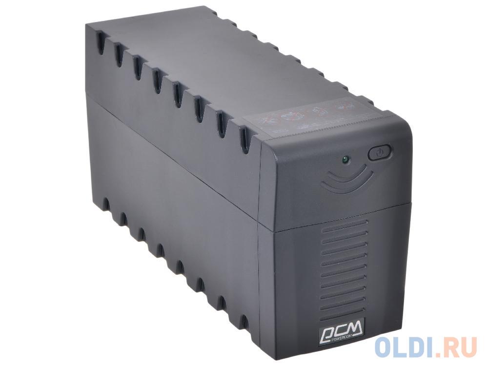 ИБП Powercom RPT-800A Raptor 800VA/480W AVR (3 EURO) rpt 800a euro