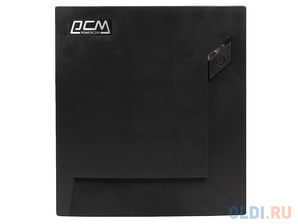 ИБП Powercom RPT-2000AP Raptor 2000VA/1200W USB,AVR,RJ11,RJ45 (6 IEC) черный ибп powercom rpt 1025ap raptor 6 iec