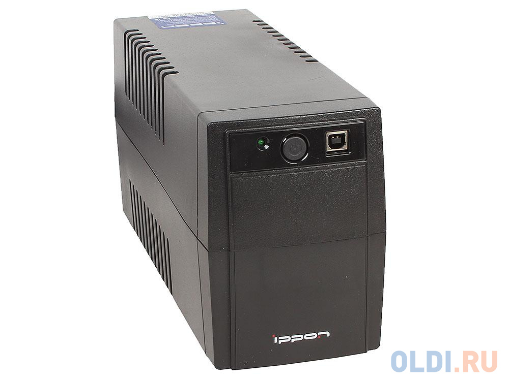 ИБП Ippon Back Basic EURO 1050 1050VA/600W RJ-11,USB (2 EURO) ибп ippon back basic 1050 euro 600w 1050va