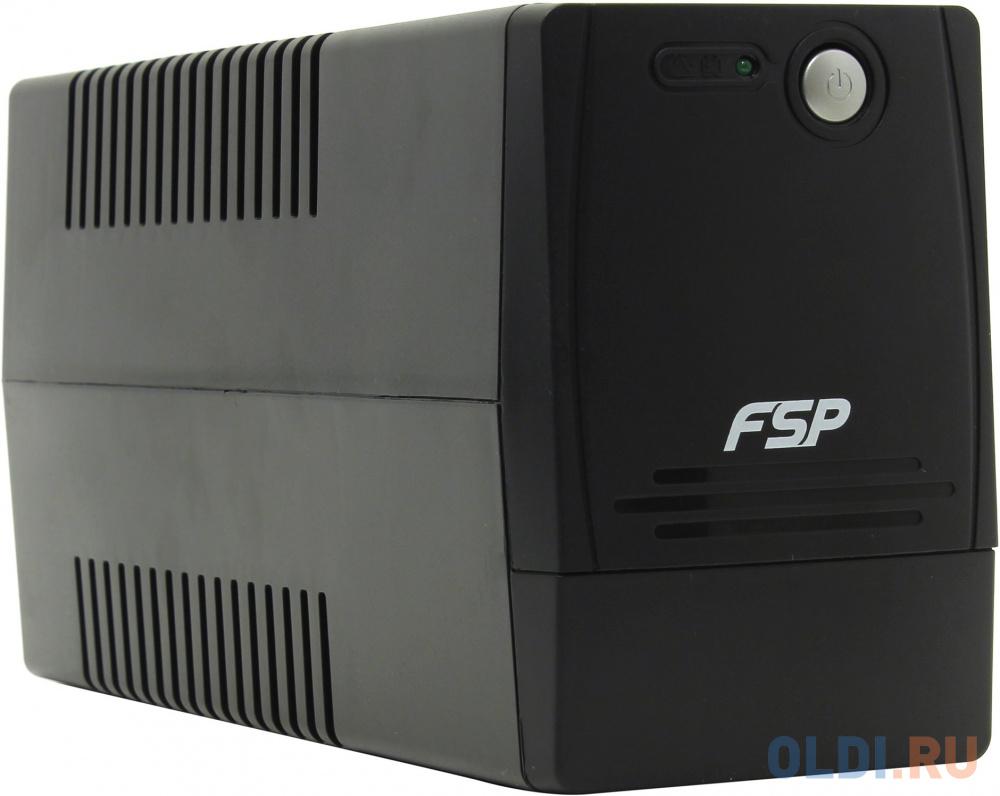 ИБП FSP DP 850 850VA/480W (4 IEC) ибп fsp dp 850 850va 480w 2 euro