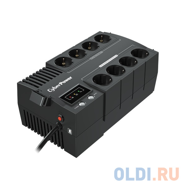 ИБП CyberPower BS850E 850VA/480W USB (4+4 EURO) ибп fsp dp 850 850va 480w 2 euro