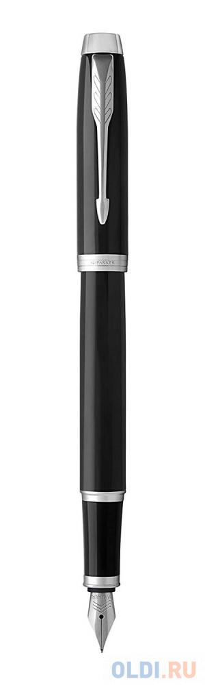 Перьевая ручка Parker IM Core F321 Black CT синий 0.8 мм перо F 1931644